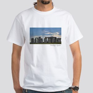 Stonehenge Panoramic View T-Shirt