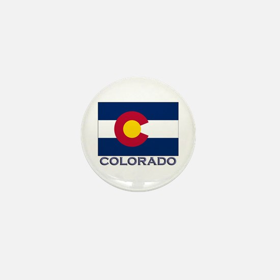 Colorado Flag Gear Mini Button