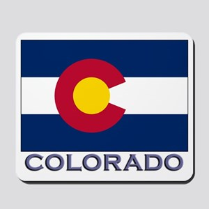Colorado Flag Gear Mousepad