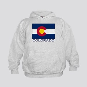 Colorado Flag Gear Kids Hoodie