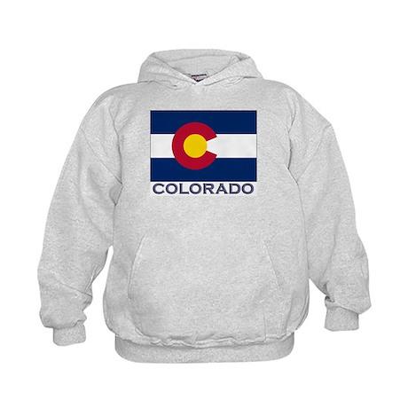 Colorado Flag Gear Kids Hoodie