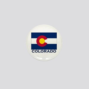 Colorado Flag Merchandise Mini Button