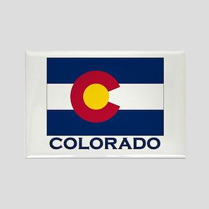 Colorado Flag Merchandise Rectangle Magnet