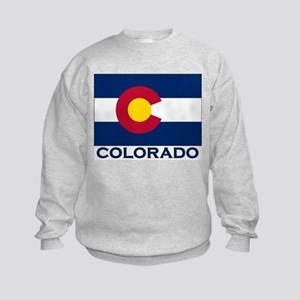 Colorado Flag Merchandise Kids Sweatshirt