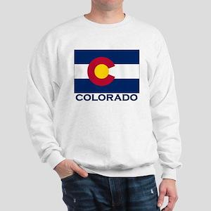 Colorado Flag Merchandise Sweatshirt