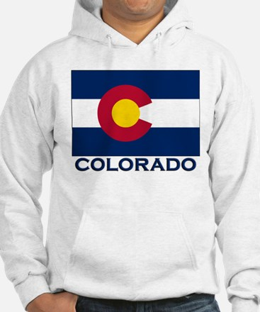 Colorado Flag Merchandise Jumper Hoody
