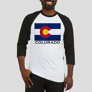 Colorado Flag Merchandise Baseball Jersey