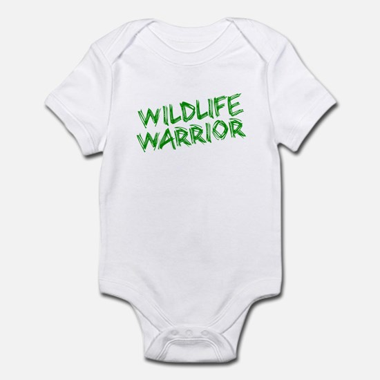 """Wildlife Warrior"" Infant Bodysuit"