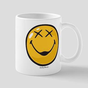 unconscious smiley Mug