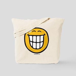 delight smiley Tote Bag