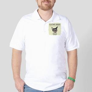 Catnip Beer Golf Shirt