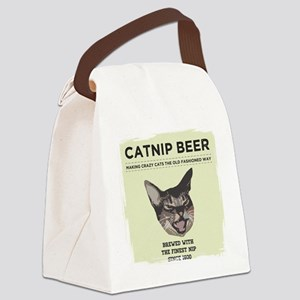 Catnip Beer Canvas Lunch Bag