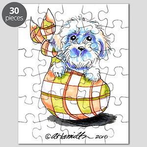 Baby Bichon Frise Puzzle