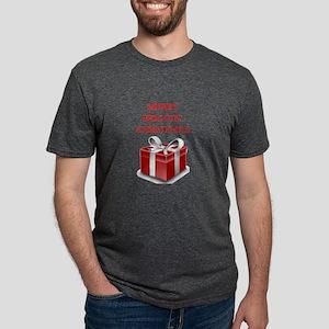 christmas Mens Tri-blend T-Shirt