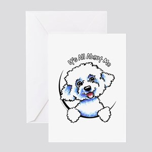 Bichon Frise IAAM Greeting Card