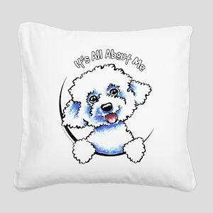 Bichon Frise IAAM Square Canvas Pillow