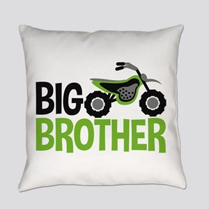 Motorcycle Big Brother Everyday Pillow