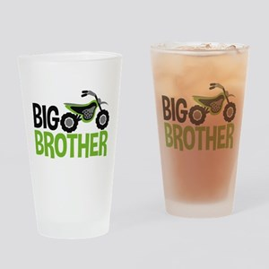 Motorcycle Big Brother Drinking Glass