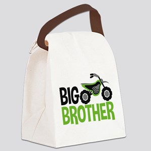 Motorcycle Big Brother Canvas Lunch Bag