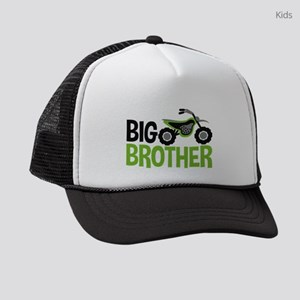 Motorcycle Big Brother Kids Trucker hat