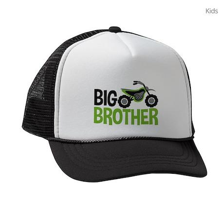 Motorcycle Big Brother Kids Trucker hat