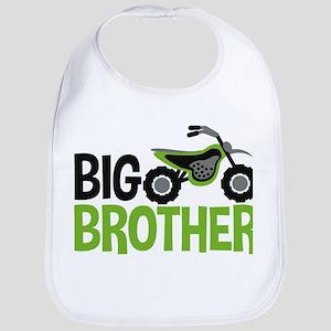 Motorcycle Big Brother Baby Bib