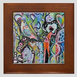 Grow Love Framed Tile