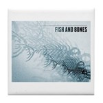 Fish And Bones Tile Coaster
