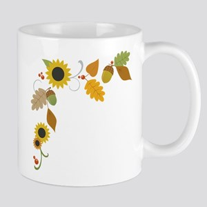 Thanksgiving Border Mug