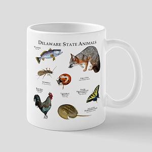 Delaware State Animals Mug