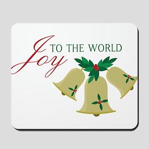 Joy To The World Mousepad