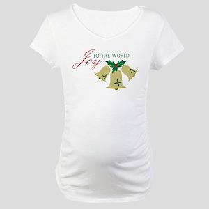 Joy To The World Maternity T-Shirt