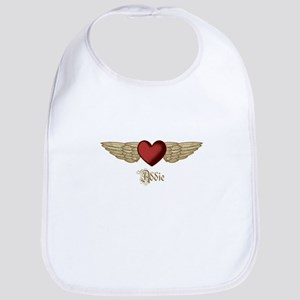 Addie the Angel Bib