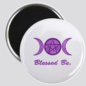 Blessed Be (Purple) Magnet