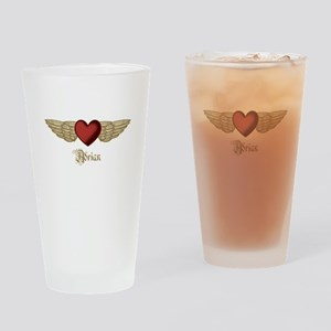 Adrian the Angel Drinking Glass