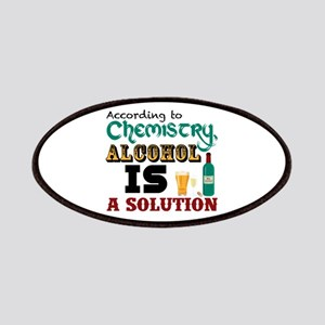 Alcohol is a Solution Patches
