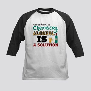 Alcohol is a Solution Baseball Jersey