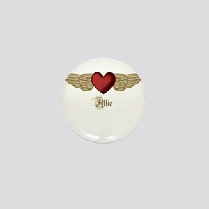 Allie the Angel Mini Button