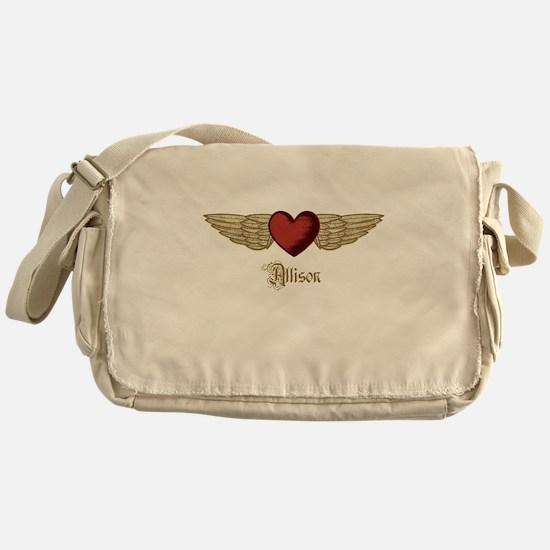 Allison the Angel Messenger Bag