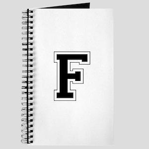 Collegiate Monogram F Journal