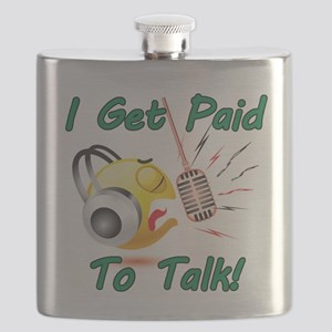 I Get Paid - To Talk (1) Flask
