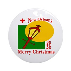 New Orleans Christmas 2006 Ornament (Round)