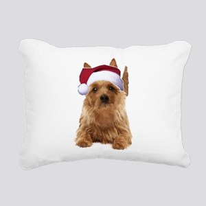 aussie terrier Rectangular Canvas Pillow