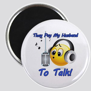 I Get Paid - To Talk (4) Magnet