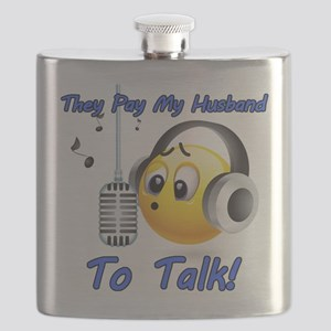 I Get Paid - To Talk (4) Flask
