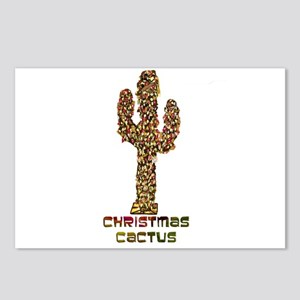 Christmas Cactus Postcards (Package of 8)