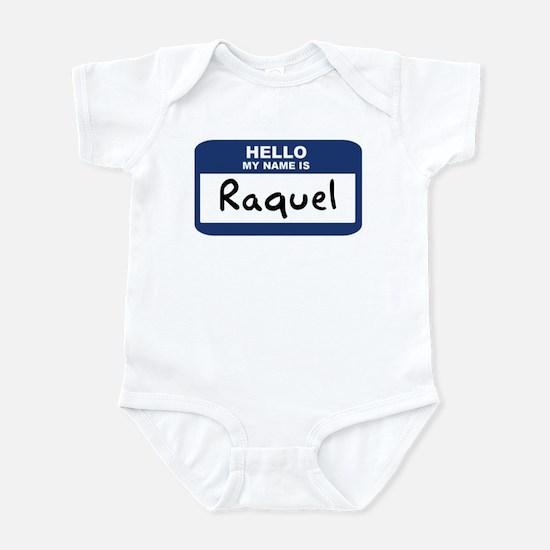 Hello: Raquel Infant Bodysuit