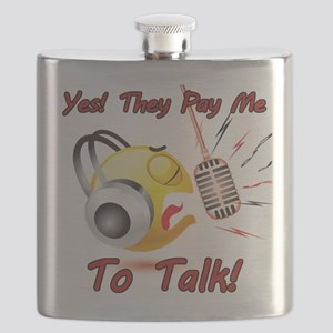 I Get Paid - To Talk (6) Flask