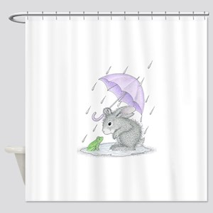Puddle Fun Shower Curtain