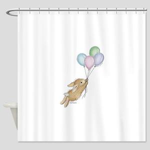 HMLR1045_balloonsnobckgrnd copy Shower Curtain